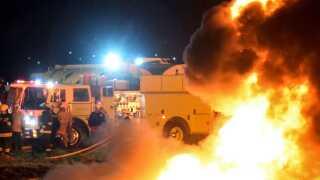 Mindst 71 personer er blevet dræbt og adskillige såret efter en eksplosion ved en olierørledning i Tlahueilpan i Mexico sent fredag aften lokal tid.