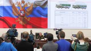 Det russiske forsvars - og udenrigsministerium briefede pressen og militærattachéer om det nye misisl.