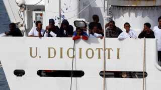 De 177 migranter blev sidste år kastebolde mellem Italien og resten af EU.