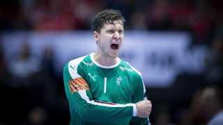Niklas Landin of Denmark during the men's IHF Handball World Championship finale between Denmark-Norway in Herning , Denmark on Sunday, Jan. 27, 2019.. (Foto: Liselotte Sabroe/Ritzau Scanpix)