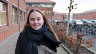 Mathilde Aahmann mener, at det er en god idé med røgfri skoletid.