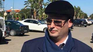 Saad Sahli er advokat for en af de mistænkte i Marokko-sagen. Han bekræfter, at hans klient i dag er til et indledende retsmøde.  Foto: Michael S. Lund