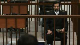 Saddam Hussein for retten i 2006.