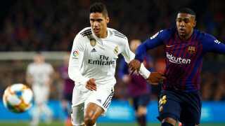 FC Barcelona's Malcolm (th.) var manden bag den udlignende scoring i anden halvleg.