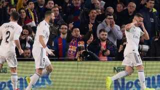 Lucas Vazquez gjorde det til 1-0 for Real Madrid.