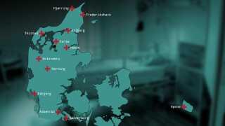 DR har kontaktet en række sygehuse. Flere ønsker ikke at oplyse andelen af udenlandske læger på de forskellige afdelinger. Det gælder sygehusene i Nykøbing Falster, Slagelse, Viborg og Randers. Nogle afdelinger på sygehusene i Næstved og Svendborg vendte ikke tilbage på DR's henvendelse.