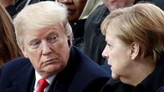 Den amerikanske præsident, Donald Trump, mener ikke, at gasrørledningen er en god ide.