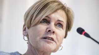 Mette Bock er i dag Danmarks kultur- og kirkeminister. Nu går hun efter en plads i Europa-Parlamentet.