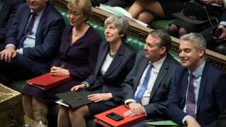Den britiske premierminister, Theresa May, kæmper fortsat for sin skilsmisseaftale med EU. Den er nu blevet nedstemt to gange.