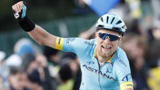 Magnus Cort vandt 4. etape af Paris-Nice onsdag.