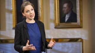 Rina Ronja Kari er ærgerlig over den nye revision.