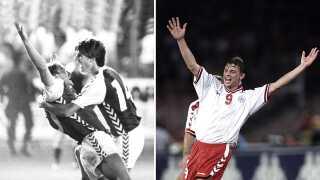 Preben Elkjær og Jon Dahl Tomasson er blandt målscorerne i de vildeste comebacks for fodboldlandsholdet.