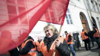 Fagbevægelsen i Danmark er så stærk, at der ikke har været behov for mindsteløn, fortæller Jens Arnholtz.