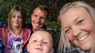 Camilla Olsen og hendes familie rejser ofte på forlænget weekend til Bornholm.