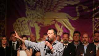 Matteo Salvini er både formand for Lega, idenrigsminister og vicepremierminister i Italien.