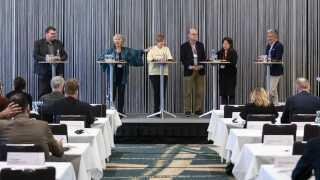 Det var Nordisk Råd, der havde arrangeret debatten om EU.