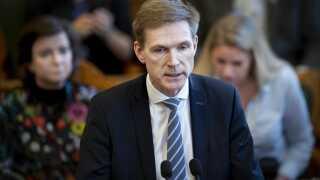 DF-formand Kristian Thulesen-Dahl (DF) er langt fra tilfreds med den opbakning, partiet nyder i seneste meningsmåling fra Epinion.