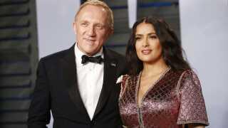 François-Henri Pinault er direktør for firmaet Kering og gift med skuespilleren Salma Hayek.