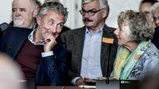 Morten Løkkegaard (V) og Margrethe Auken (SF) er to af de politikere, man kan stemme på.