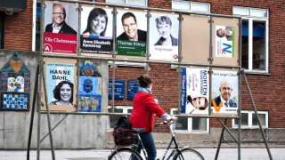 Sådan så det ud, der da var EP-valgkamp i 2009.