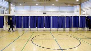Valgdeltagelsen i Danmark ved det seneste valg lå højere end EU-gennemsnittet.