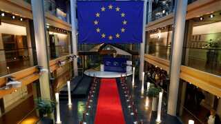 Europa-Parlamentet i Strasbourg kostede 5,5 milliarder kroner at bygge.