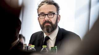Transportminister Ole Birk Olesen