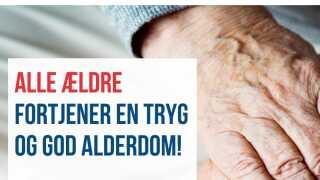 Udsnit af kampagne fra Dansk Folkeparti.