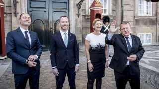 Tre nye V-ministre blev onsdag præsenteret. Statsministeren fravalgte dermed den helt store rokade.