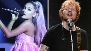 Superstjerner som Ariana Grande og Ed Sheeran er blot nogle af de musikere, der til næste år giver koncert i Danmark.