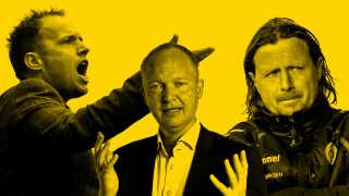 Fire af Superligaens trænere sætter ord på, hvordan de har oplevet FCK i mesterskabssæsonen.