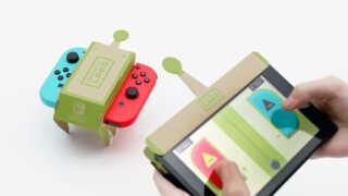 Med Nintendo Labo kan spillere bygge deres egen spiloplevelser ved hjælp af forskellige papfigurer.