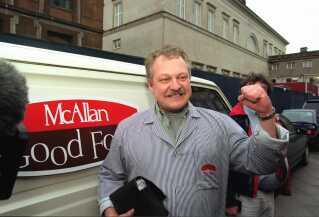 Pølsemand Mac Allan Pedersen. (arkivfoto)