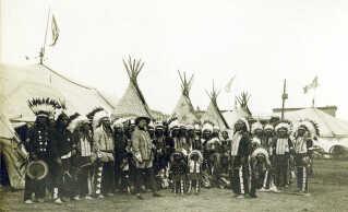 Buffalo Bills Wild West Show 1890.