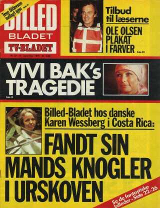 Selvom Karen Wessberg mente, at hun måske også selv var i livsfare, blev hun i junglen til sin død i 1994.