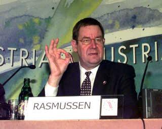 Statsminister Poul Nyrup Rasmussen (S) i 1998, hvor han også ville tage et opgør med bureaukratiet.