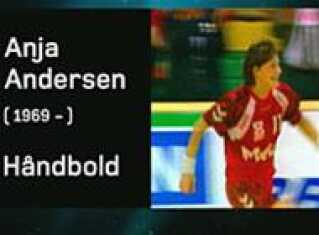 Sportskanon - Anja Andersen