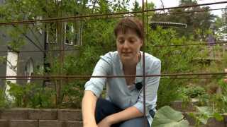 Eva Ladberg er en af de mange svenskere, der forbereder sig på at blive selvforsynende.