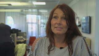 Wivecka Ljungh er HR-chef i det svenske kommunale boligselskab Mimer, som har startet træningsforsøget.
