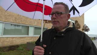 """Claus *Moffe* Nielsen har fortalt om sin produktion af cannabisolie i DR-dokumentaren """"Cannabismanden fra Holbæk""""."""