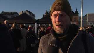 Morten Bang til letbanefest.