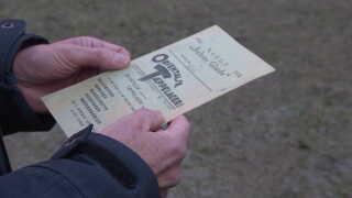 Sparebogen her er fra 1931 og tilhørte en hr. Mogensen med medlemsnummer 2483. Hver uge indbetalte han 2 kr.