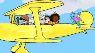 I 'Cirkeline, Coco og det vilde næsehorn' rejser Cirkeline og vennerne til Afrika, hvor hendes nye veninde fra kakaopakkerne, prinsessen Coco, stammer fra.