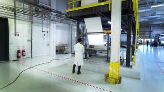 Aquaporin producerer dagligt to kilometer filtermateriale til vandrensning.