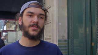 Maxime Bertholet, studerende, Paris.