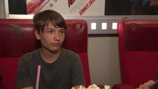 Christoffer Pedersen på 13 år drikker ikke selv så meget energidrik, for han har prøvet at begynde at ryste, efter at han har drukket for meget.