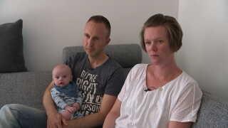 Louise Karkov havde i starten meget svært ved at tro på, at hun faktisk var gravid.