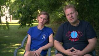 Kaja og Svenne Kamper Johansen