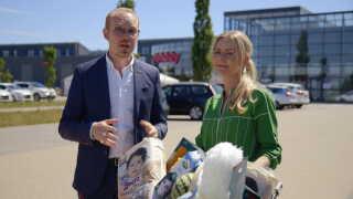 Jan Hellesøe og Anne Glad er værter på programmet manipulator, der kommer i seks afsnit.