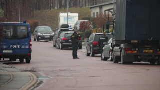 Tidligere i dag ransagede politiet rockerborgen på Ringbakken ved Ganløse.